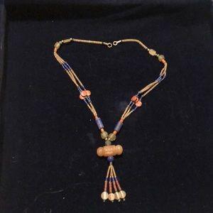 Handmade bided necklace